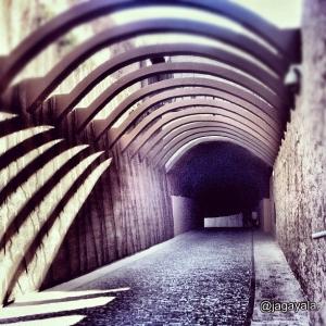 Túnel de acceso al Parador de Lorca