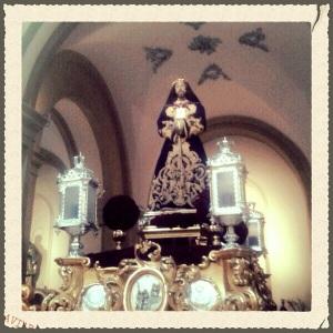 «Cristo del Rescate», siglo XVII, anónimo. Foto de Mª Dolores García Ayala.